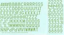 "Fantasy Printshop Decals 1/48 R.A.F. POST WAR LETTERS & NUMBERS 18"" SKY"