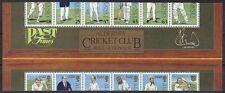Alderney 1997 Block 3 ** MNH Cricket Kricket ABART stark verschnitten Miscut RAR