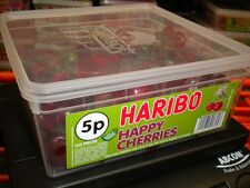 HARIBO 120 HAPPY CHERRIES 924g TUB UK SWEETS PARTY HALLOWEEN BIRTHDAY ETC