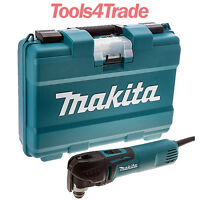 Makita TM3010CK Oscillating Multi-Tool Tool-Less Access. Quick Change Blade 240V
