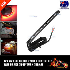 Bendable LED Strip Tail Light Turn Signal Brake Indicator for Harley Motorcycle