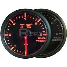 Prosport 45mm Fuel Pressure Gauge Amber / Clear Stepper Motor
