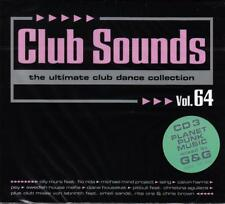 CLUB SOUNDS VOL. 64 - 3CD-SET 2013 * NEW & SEALED *