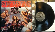 KLP87 - Scorpions - World Wide Live (E 2403431) UK 2LP in FOC + OIS'