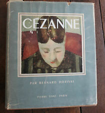 1948 Cézanne Dorival Collection Prométhée planches couleurs Tableaux Art