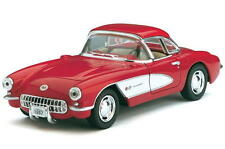 1957 Chevrolet Corvette KINSMART Diecast 1:34 Scale -  Red