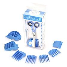 ScaredyCut 9pc Silent Pet Grooming Kit in BLUE.  Dogs and Cats.