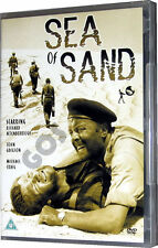 Sea Of Sand 1940 Richard Attenborough John Gregson North Africa War Film DVD New