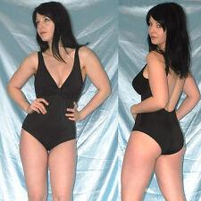 tiefer Ausschnitt im BODY* M 40 * Badeanzug glänzend * Gymnastikanzug