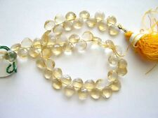 Citrine faceted diamond beads 5-7mm