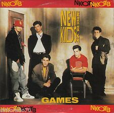 NEW KIDS ON THE BLOCK Games CD Single / Card Sleeve