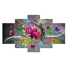 Canvas Prints Home Wall Art Painting Picture-Abstract Dancing Lovers Unframed