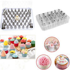 24x Multi-Shapes Icing Piping Nozzles Tip Stainless Steel Cupcake Sugarcraft Kit