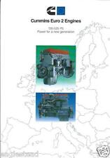 Truck Brochure - Cummins - Euro 2 Engine - B C M N series CNG - c1995 (T1000)