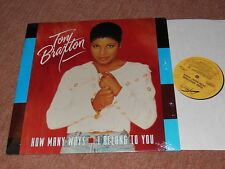TONI BRAXTON - HOW MANY WAYS / 6 TRACK US 12'' MAXI-LP 1994 MINT-