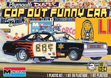 Revell Monogram 1/24 Plymouth Duster Cop Out Funny Car # 85-4093