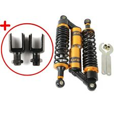 320mm 330mm Round Hole Motorbike Shock Absorber Rear Suspension For Yamaha Honda