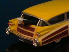 1959 59 Cadillac Surfing Golden Maple 502 V-8 Woody Wagon 1/64 Scale Ltd Edit T
