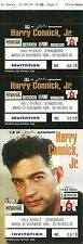 RARE / TICKET BILLET DE CONCERT - HARRY CONNICK JR LIVE A STRASBOURG 1994