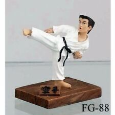 Mini Karate Side Kick Figure H939 Martial Arts Gifts Doll Figurine Shotokan