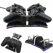 Dual USB Charging Station Dock For PS3 Wireless Controller Gamepad UR