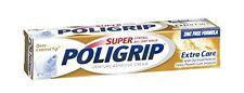 3 Pack - PoliGrip Super, Denture Adhesive Cream, Extra Care - 2.2 oz Each