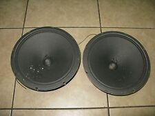 Utah Heritage 12 Inch Woofers Speakers V12PA45 From 1967 Model HS1B 8 Ohm Pair