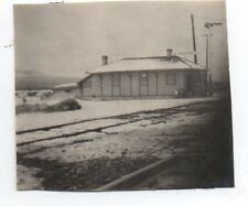 1910 Photo of the Valley Pass Railroad Depot in Snow CA