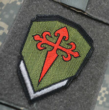 ANTI-ISIS SEAL ODA SAS JTF2 KSK CRUSADER VeIcrô SSI: St. James Warrior's Cross