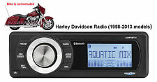 AQUATIC AV AQ-MP-5BT-H BLUETOOTH HARLEY-DAVIDSON REPLACEMENT RADIO FITS, 98-2013