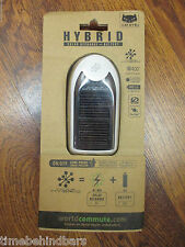 CATEYE HYBRID SOLAR RECHARGE & BATTERY HEAD LIGHT WHITE HL-EL020