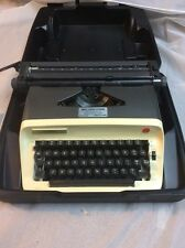 Olympia Model B12 Manual Portable Typewriter with Case Working