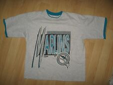 Florida Marlins Disco Tee - Vintage 1992 Wham Vice Style Muscle T Shirt Med/Lrg