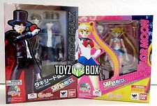 In STOCK S.H. Figuarts 20th Anniversary Sailor Moon + Tuxedo Mask Action Figure