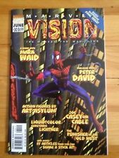 Marvel Vision # 30 Spiderman Cover