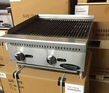 "24"" Char Broiler Radiant 2 GRILL COMMERCIAL RESTAURANT HEAVY DUTY NAT LP GAS NEW"