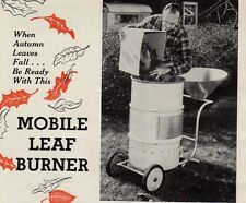 MOBILE LEAF BURNER PLANS DIY INCINERATOR HOW TO BUILD