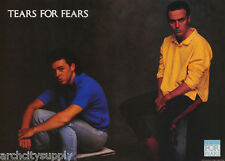 POSTER : MUSIC: TEARS FOR FEARS    - FREE SHIPPING -  #15-381    RC26 F