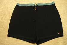 Tommy Hilfiger Biking /Work out/Cover up Swim Suit Bottoms L athletic boy shorts