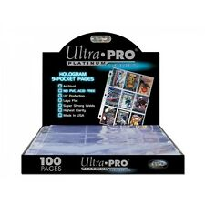 Ultra Pro 9 Pocket Page Box of 100 Brand New