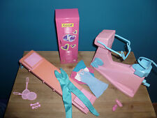 Barbie vintage lotto furniture anni '80 Workout Center 1984