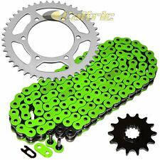 Green O-Ring Drive Chain & Sprockets Fits KAWASAKI EX250J Ninja 250R 2008-2012