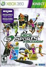 Xbox 360 Deca Sports Freedom KINECT NEW Sealed NTSC N & S America
