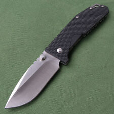 Sanrenmu SRM 963 Liner Lock pocket knife Black G10 Handle Folding Knife