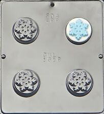 Snowflake Chocolate Oreo Cookie Mold  1618 NEW