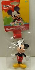 Disney Junior Mickey Mouse Clubhouse Key Chain  Mickey Figurine New