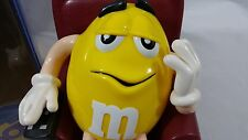 M&M's Candy Dispenser Recliner Yellow Remote Control Brown Chair Bear Sleepers