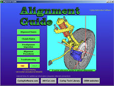 Wheel Alignment Diagnosis & Training Software