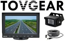 "TovGear 7"" Inch Rear View Backup Camera System For Truck Bus RV"