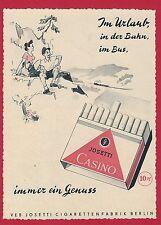 Π 16 RDA publicidad de una zeitschrieft casino vacaciones tereftalato impreso